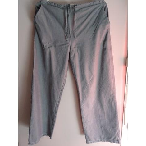 Pantalon large LA REDOUTE REFERENCE Gris, anthracite