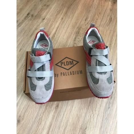 Chaussures à scratch PALLADIUM Gris, anthracite