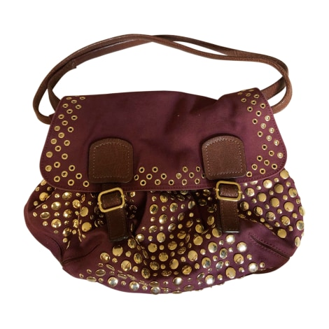 Stoffhandtasche SONIA RYKIEL Violett, malvenfarben, lavendelfarben