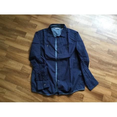 Chemise OKAÏDI Bleu, bleu marine, bleu turquoise