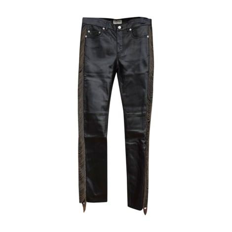 Pantalon slim SAINT LAURENT Noir