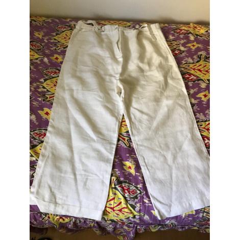 Pantalon Future Maman NATALYS Blanc, blanc cassé, écru