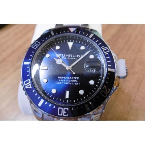 Montre au poignet STÜHRLING Bleu, bleu marine, bleu turquoise