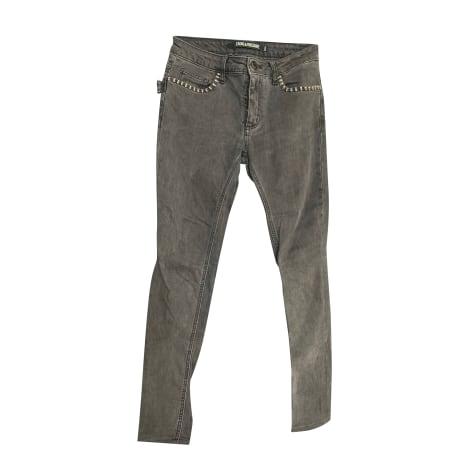 Jeans slim ZADIG & VOLTAIRE Gris, anthracite