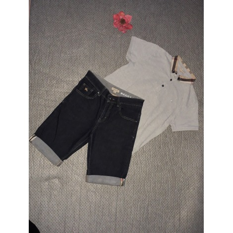 Shorts Set, Outfit BURBERRY Gray, charcoal
