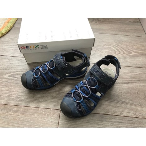 Sandales GEOX Bleu, bleu marine, bleu turquoise