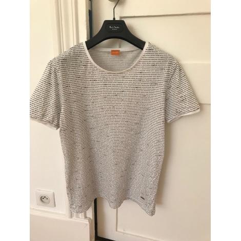 Tee-shirt HUGO BOSS Blanc, blanc cassé, écru