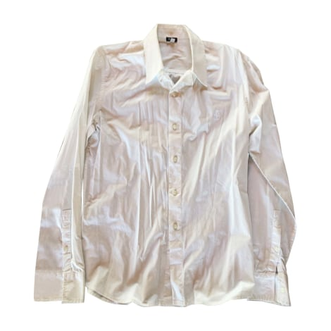 Shirt VERSACE White, off-white, ecru