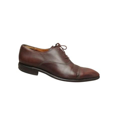 Chaussures à lacets JEAN-BAPTISTE RAUTUREAU Marron