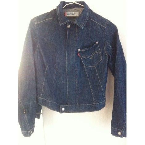 Veste en jean LEVI'S Bleu, bleu marine, bleu turquoise