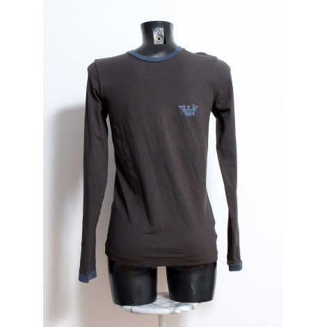 Tee-shirt ARMANI JEANS Gris, anthracite