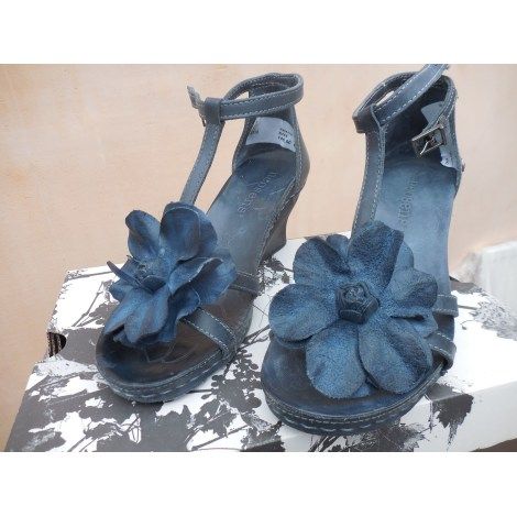 Sandales compensées NEOSENS Bleu, bleu marine, bleu turquoise