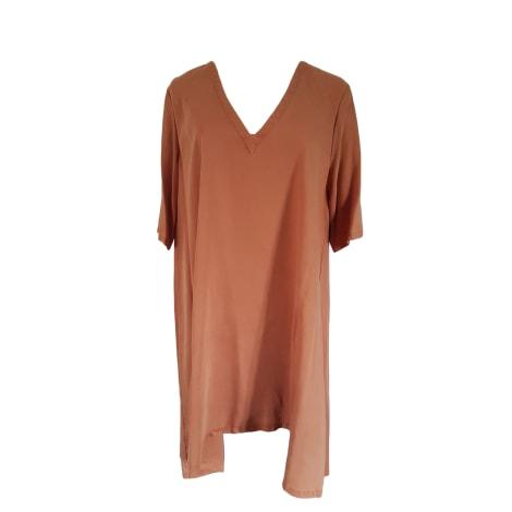 Robe tunique AMERICAN VINTAGE Orange