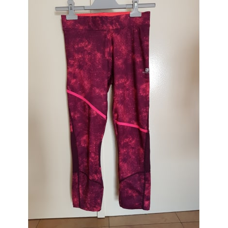 Pantalon de fitness DOMYOS Rose, fuschia, vieux rose