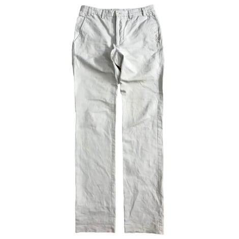 Pantalon droit MELINDA GLOSS Beige, camel