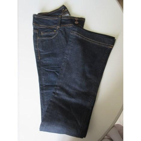 Jeans évasé, boot-cut SCHOOL RAG Blanc, blanc cassé, écru