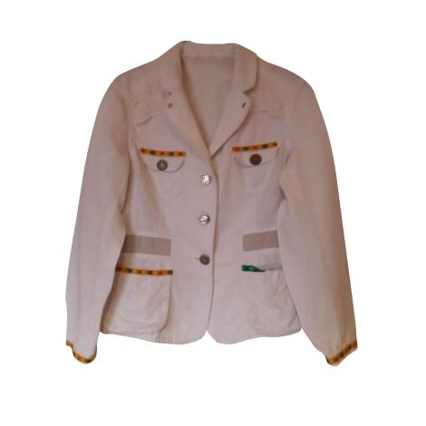 Blazer, veste tailleur ALAIN MANOUKIAN Blanc, blanc cassé, écru