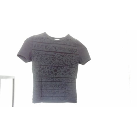 Top, tee-shirt TEHEN Noir
