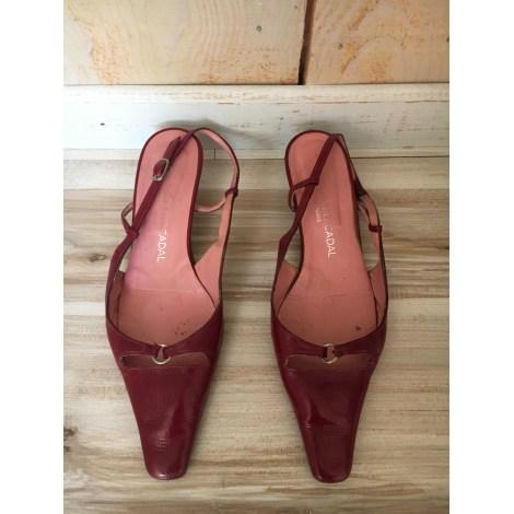 Sandales à talons LES ATELIERS MERCADAL Rouge, bordeaux
