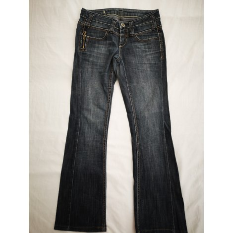 Jeans évasé, boot-cut BONOBO Bleu, bleu marine, bleu turquoise