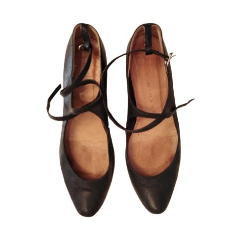 Ballet Flats CHIE MIHARA Black