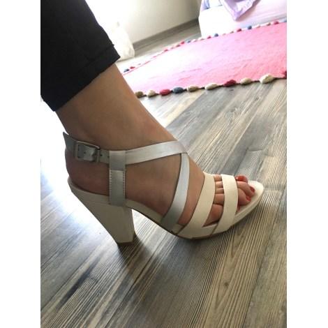 Sandales à talons SAN MARINA Blanc, blanc cassé, écru