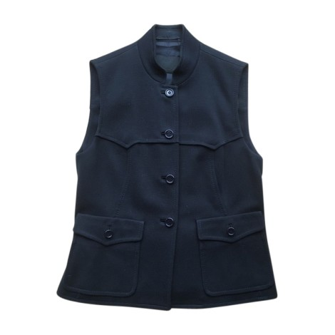 Blazer, veste tailleur PRADA Bleu, bleu marine, bleu turquoise
