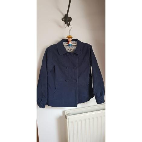 Manteau CYRILLUS Bleu, bleu marine, bleu turquoise