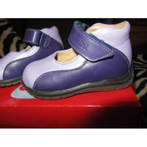Chaussures à scratch CATIMINI Violet, mauve, lavande