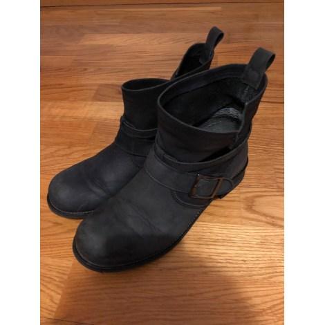 Bottines & low boots motards ANDRÉ Noir