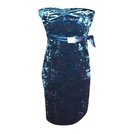 Robe bustier GUESS Bleu, bleu marine, bleu turquoise