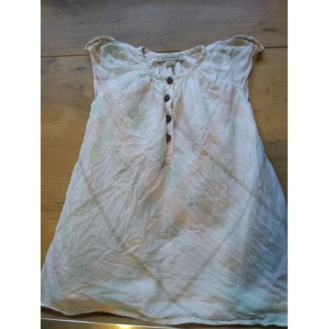 Robe BURBERRY Blanc, blanc cassé, écru