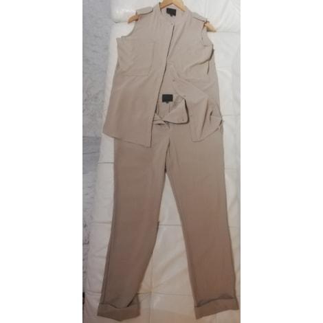 Tailleur pantalon HOTEL PARTICULIER Beige, camel
