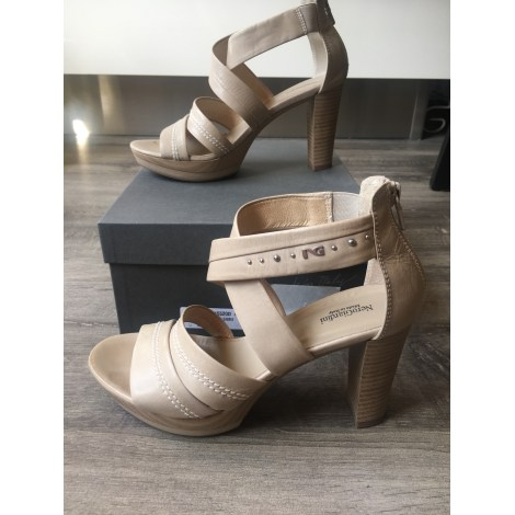 Sandales à talons NERO GIARDINI Beige, camel