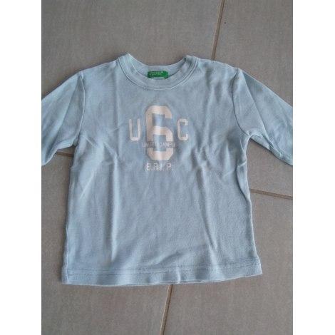 Top, tee shirt BENETTON Bleu, bleu marine, bleu turquoise