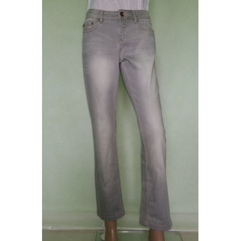 Jeans droit CLOSED Gris, anthracite