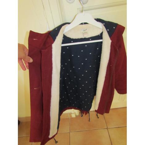 Manteau CYRILLUS Rouge, bordeaux