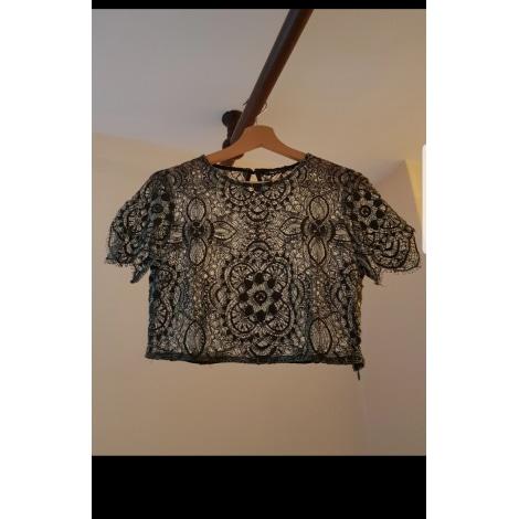 Top, tee-shirt ZARA Kaki