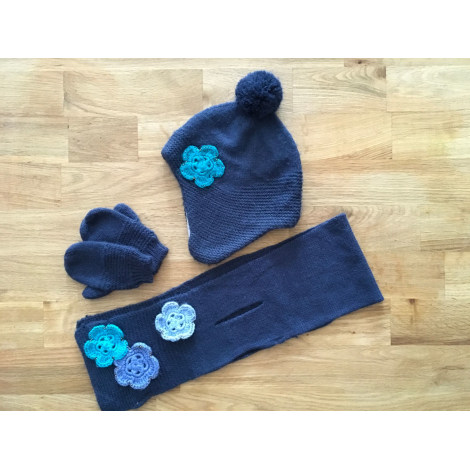 Bonnet BOUT'CHOU Bleu, bleu marine, bleu turquoise