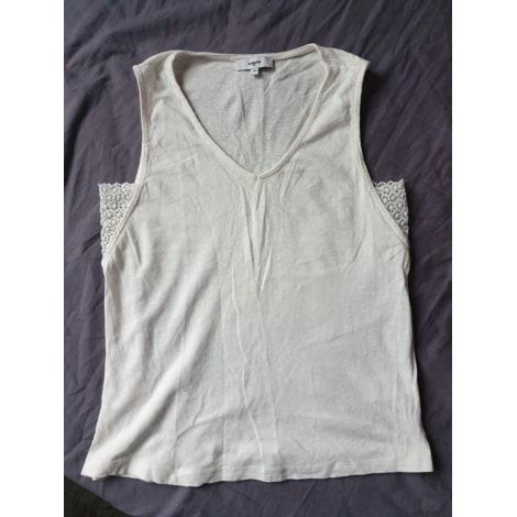 Top, tee-shirt SUNCOO Beige, camel