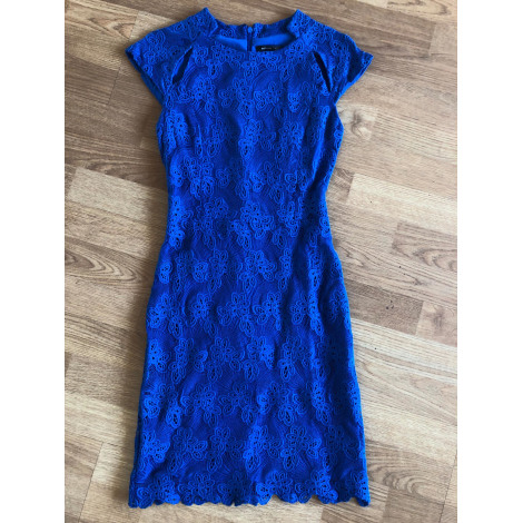 Robe courte MANGO Bleu, bleu marine, bleu turquoise
