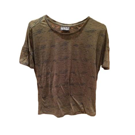 Top, tee-shirt THE KOOPLES Kaki