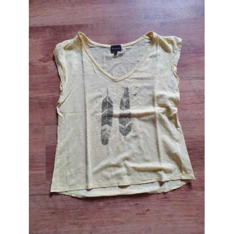 Top, tee-shirt BERENICE Jaune