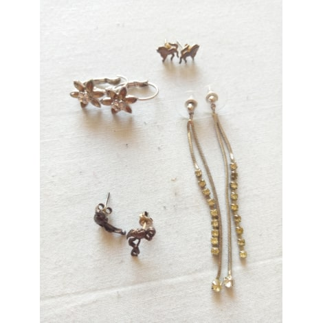 Earrings MARQUE INCONNUE Silver