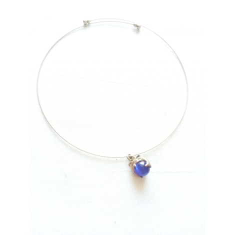 Necklace MARQUE INCONNUE Blue, navy, turquoise