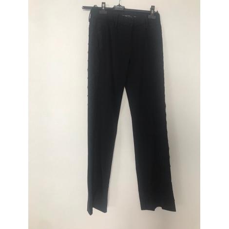 Pantalon droit DOLCE & GABBANA Noir