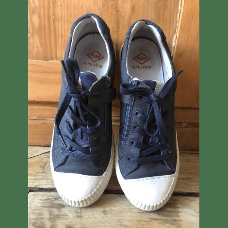 Baskets PALLADIUM bleu jean