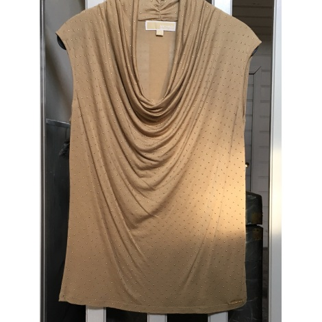 Top, tee-shirt MICHAEL KORS Beige, camel