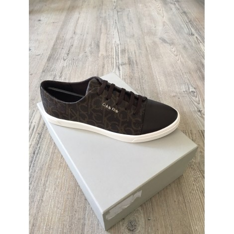 Chaussures à lacets  CALVIN KLEIN Marron