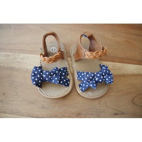 Sandals MARQUE INCONNUE Blue, navy, turquoise